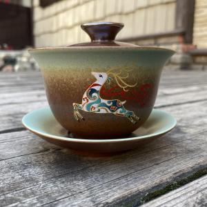 """Гайвань """"Лесной олень"""" 180мл (керамика)"""
