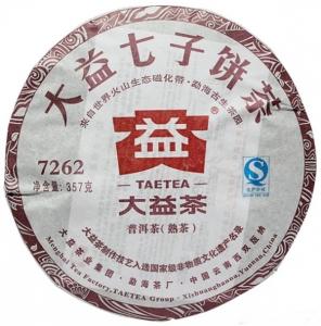 Шу Пуэр мэнхай 7262 2005 год ДаИ