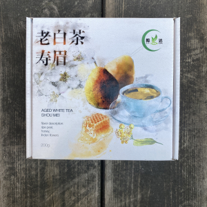 """Белый Чай """"Шоу Мэй Лао Бай Ча"""" 2009год, 200 гр"""