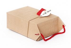 "Коробка ""ЛиПинХун"" бежевая, 14х20 см"