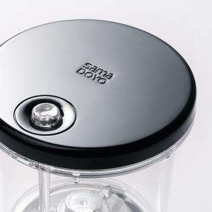 Чайник изипот SamaDoe 500мл, стекло/пластик. Без носика, съемная крышка.