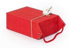 "Коробка ""ЛиПинХун"" красная, 14х20 см"