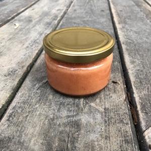Взбитый мед с клубникой 250гр