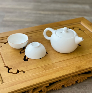 Чайный набор Белый матовый
