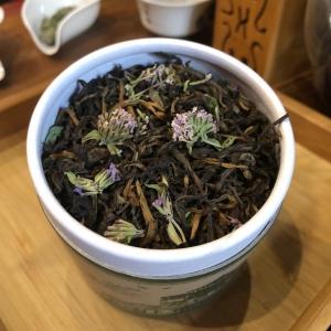 набор подарочный: банка Китайский чай с красным чаем и чабрецом