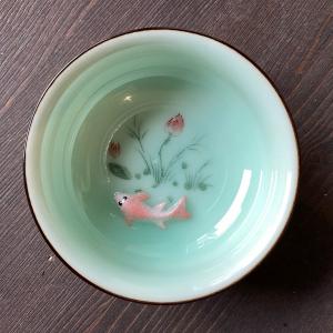 """Пиала """"Рыбка в пруду 3D"""", 70 мл"""