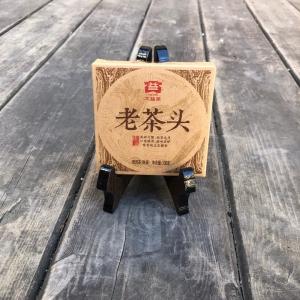 черный прессованный Лао Ча Тоу (100 гр)