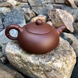 """259010 Чайник """"Баньюэ - Полумесяц"""" 220мл, цвет коричневый, исинская глина"""